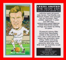Leeds United Paul Madeley England 5